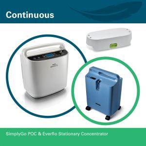 SimplyGo POC & Everflo Stationary Concentrator