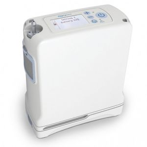 OxyGo FIT Portable Oxygen Concentrator (top view)
